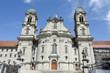 Einsiedeln abbey on Switzerland
