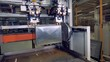 Modern industrial welding machine production factory.