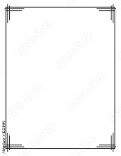 Photo  decorative frame