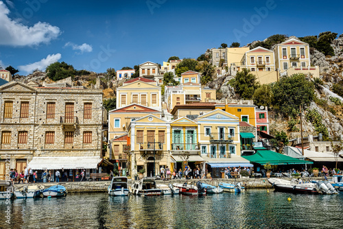 Foto op Canvas Venice Greek Island Symi