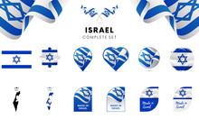 Israel Complete Set. Vector Il...