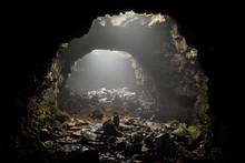 Raufarhólshellir Lava Tube, S...