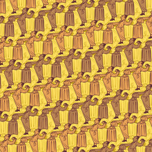 Coffee And Cake Tessellation