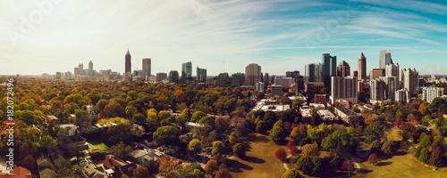 Autumn in Atlanta Canvas Print