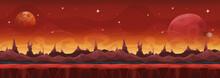 Fantasy Wide Sci-fi Martian Ba...