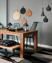 Wooden Dining Room Style Inter...