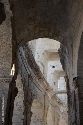 Poster Smal steegje arena romana