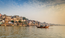 A View From River Ganges Of Ol...