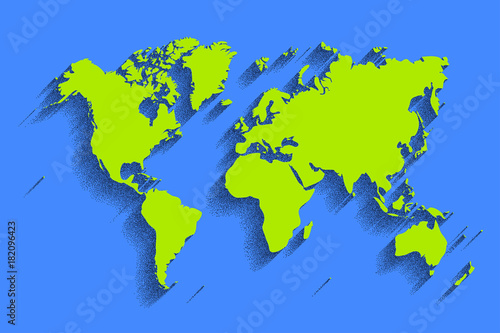 World map vector color background with shadow buy this stock world map vector color background with shadow gumiabroncs Images