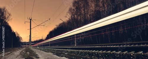 Railway in long exposure © Giddrid