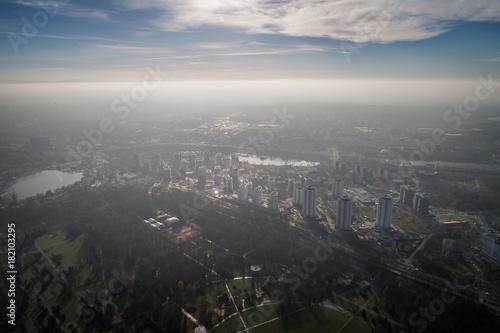 Photo  Smog nad katowicami