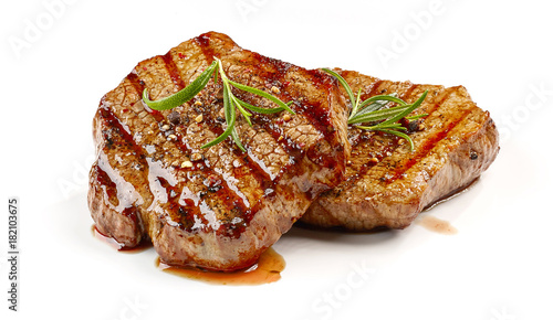 Papiers peints Steakhouse freshly grilled steak