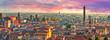 Leinwandbild Motiv cityscape of Bologna