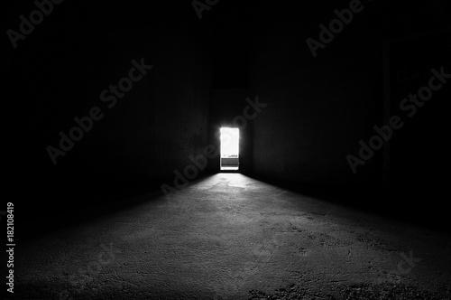 Photo Bright door way