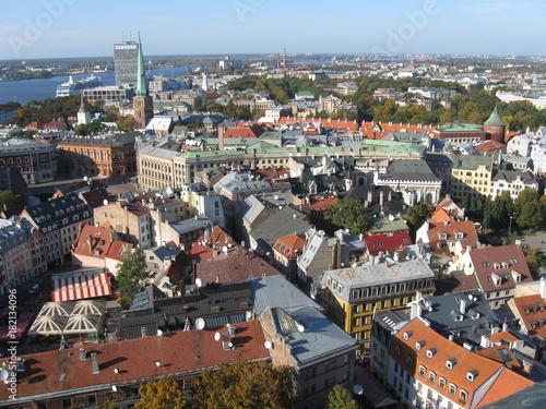 Photo  Historic architecture of Riga, Latvia