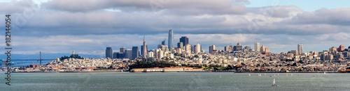 Foto auf Leinwand San Francisco Panorama Skyline San Francisco