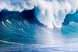 rupture de l'onde de forte vague déferlante, île de la Réunion