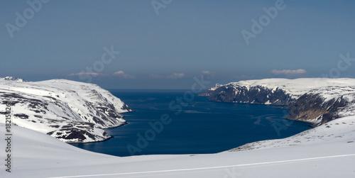 Obraz na plátně Sur la route du Cap Nord, Magerøya, Finnmark, Norvège