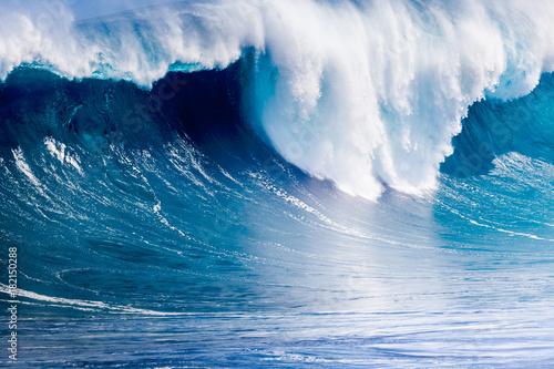 Fotografie, Obraz  rupture de l'onde de forte vague déferlante, île de la Réunion