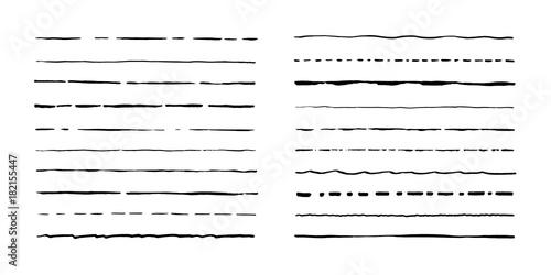 Valokuva  Set of artistic pen brushes