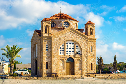 Foto op Aluminium Cyprus St George church, Agios Georgios, Cyprus, Paphos district