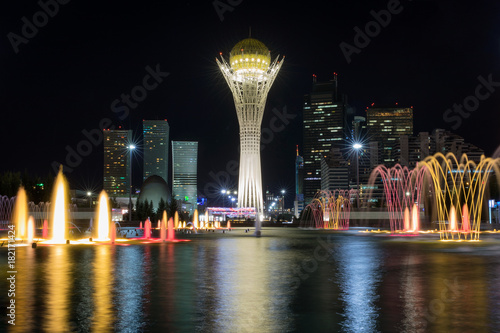 Bayterek Tower Astana Wallpaper Mural