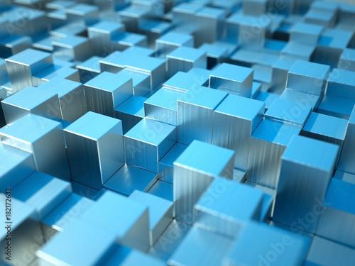 3D streszczenie bloków