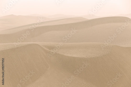 Photo sur Toile Desert de sable hotan desert VIII, china
