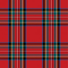 Checkered Pattern In Scottish ...