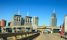 Downtown Mobile, Alabama With ...