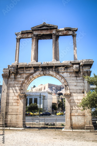 The Athens gate in Athens, the capital of Greece Poster