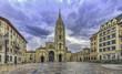 Amanecer en Oviedo