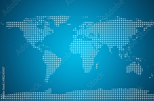 World map with pixels dotted blank black world map isolated on world map with pixels dotted blank black world map isolated on white background world gumiabroncs Gallery