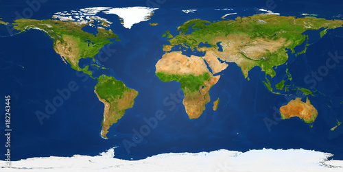 Extra large big map with highest resolution detail avalable. XXL size physical world map illustration Clipping patch included. Primary source, elements of this image furnished by NASA