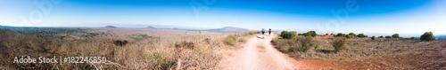 Fotografia, Obraz Hiking in Golan heights of Israel panorama