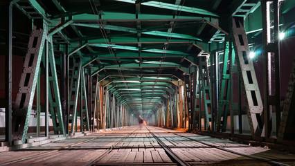 Panel Szklany Optyczne powiększenie most