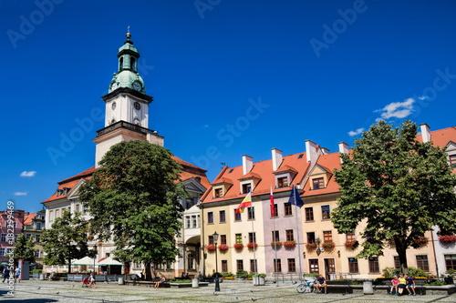 Jelenia Gora, Rathausplatz