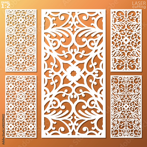 May Be Use For Laser Cutting Lazer Cut Card Silhouette Pattern Cutout Paperwork Cabinet Fretwork Panel Lasercut Metal Wood Carving