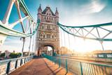 Fototapeta Londyn - The Tower Bridge in London