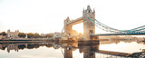 Fototapeta Londyn - The Tower Bridge in London