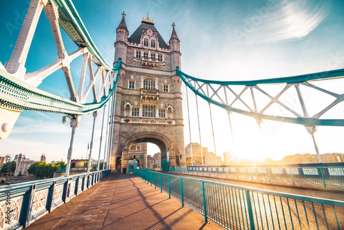 Foto op Plexiglas Londen The Tower Bridge in London