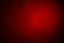 Red Light On Black Background