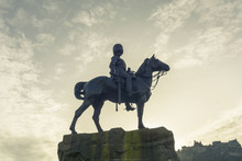 The Royal Scots Greys Monument By William Birnie Rhind (1853-1933), West Princes Street Gardens Edinburgh Scotland