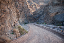 Dirt Road Through Rocky Canyon...