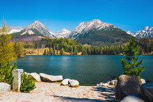 Strbske Pleso, Beautiful Lake ...