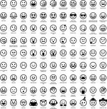 99 Smiley Face Emoji Icons