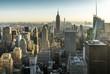 New York Skyline Manhatten Cityscape Empire State Building
