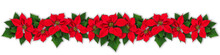 Poinsettia Flower Wreath