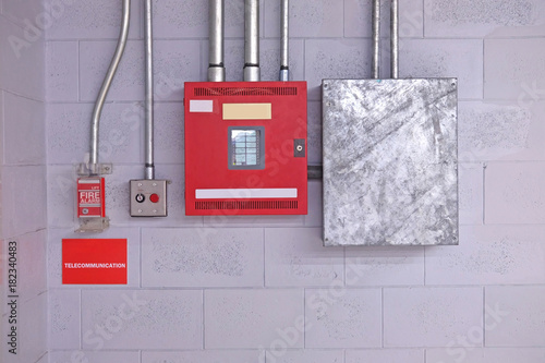 Fire Alarm Switch On Wall Electrical Conduit Pvc Conduit Buy