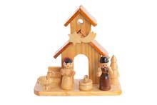 Wooden Nativity Scene - Crib